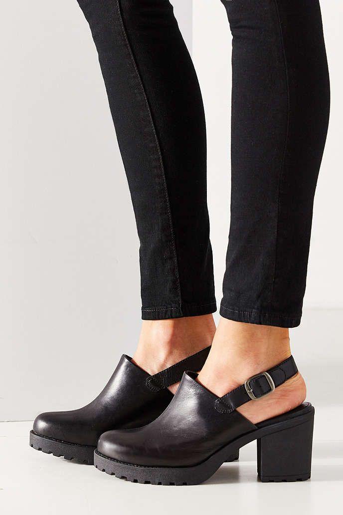 Vagabond Grace Slingback Mule Heel