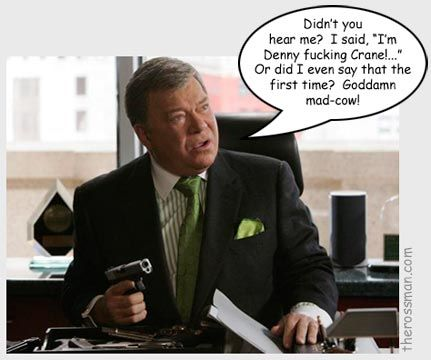 Denny Crane Nuff Said Epic Character Quotes Boston Legal Beauteous Denny Crane Quotes