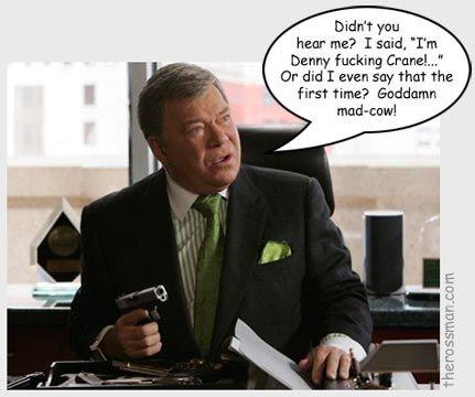 Denny Crane Nuff Said Epic Character Quotes Boston Legal Beauteous Denny Crane Quotes