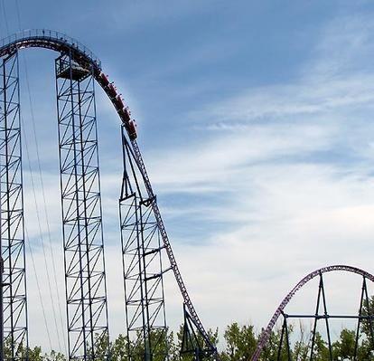 America S Best Roller Coasters 2010 Golden Ticket Awards Best Roller Coasters Six Flags Roller Coaster