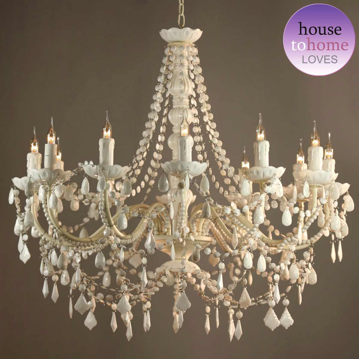 Mimi White 12 Arm Chandelier White Chandelier Chandelier Bedroom Acrylic Chandelier