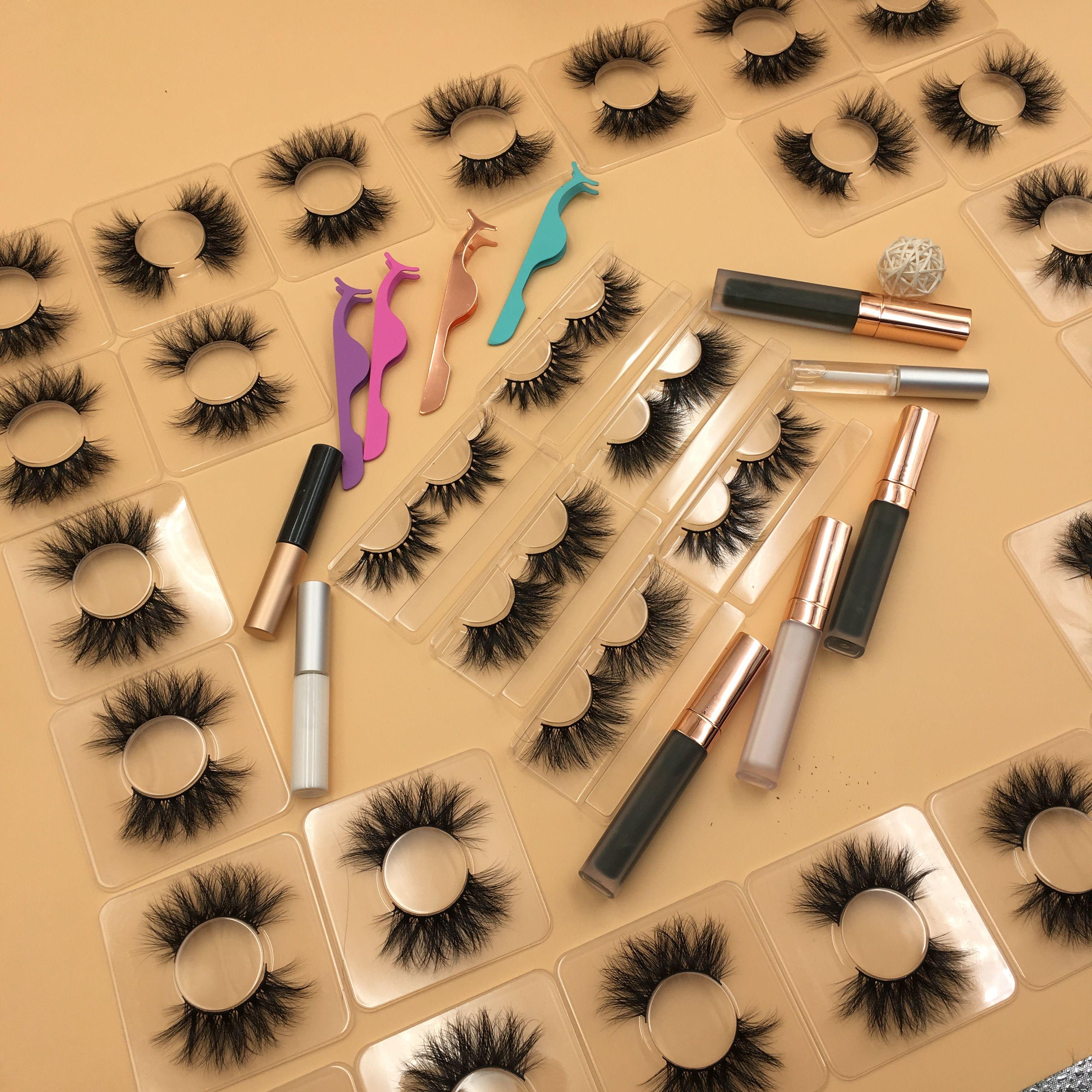 customized cruelty free sable fur eyelashes Mink lashes