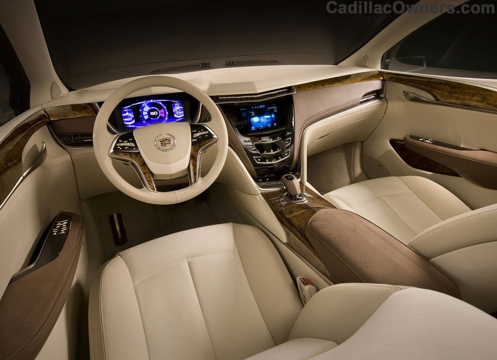 Here S A Look At The Interior Of The All New 2013 Cadillac Xts