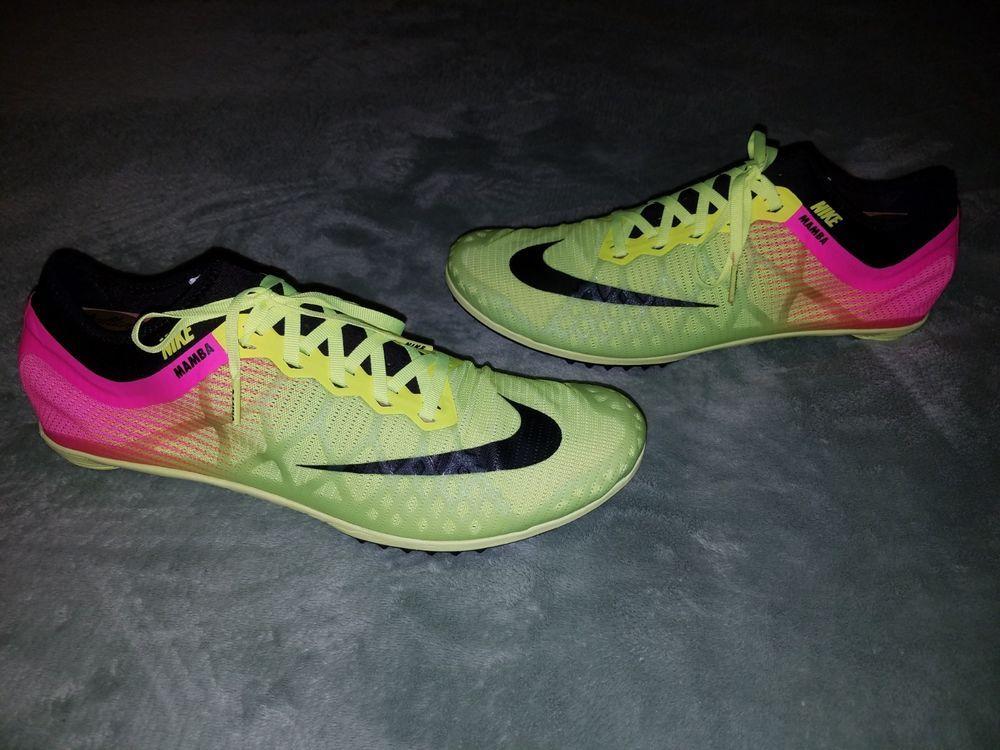 Nike Mens Mamba 3 Racing Track Spikes Running Shoes Light 706617