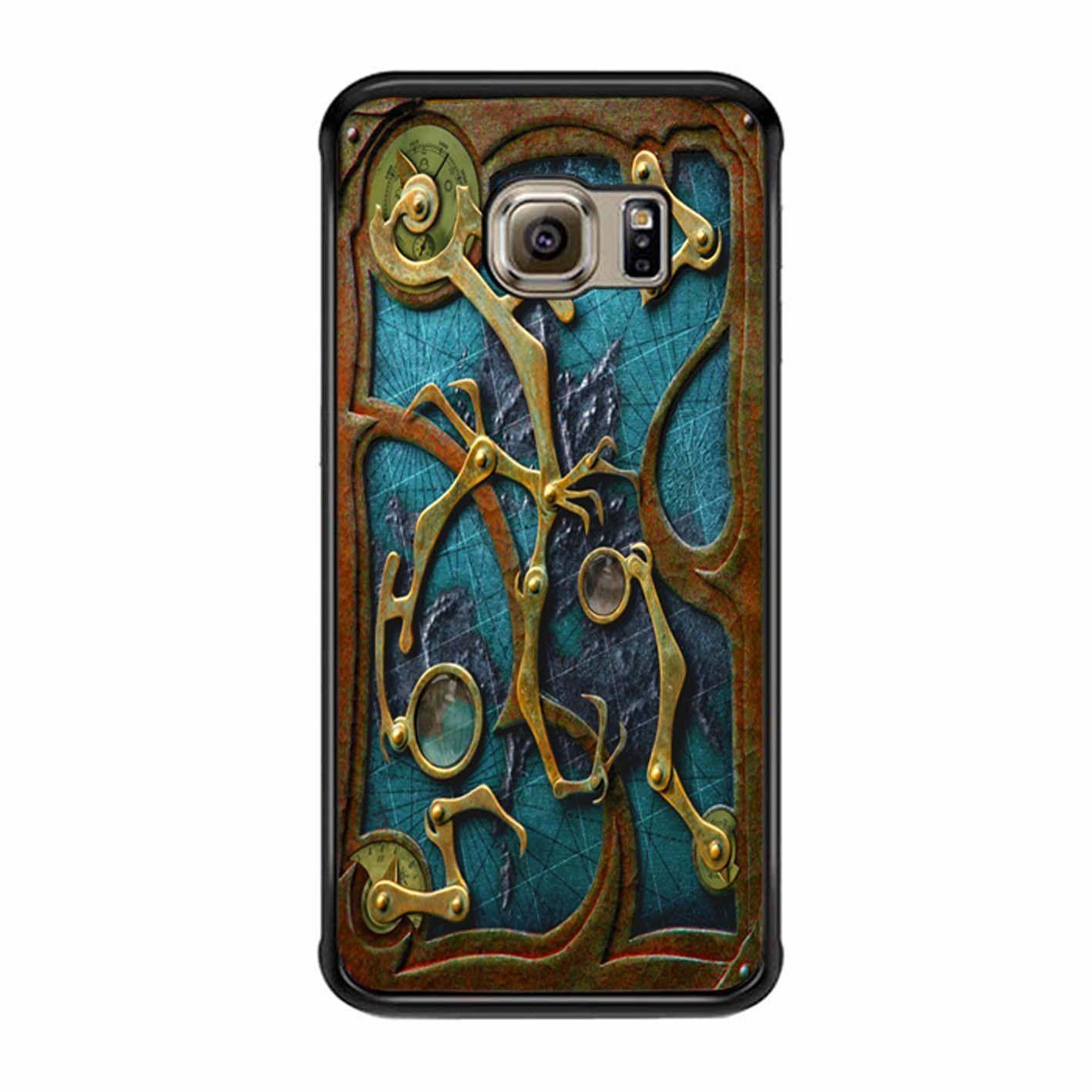 Steampunk Book Cover Samsung Galaxy S6 Edge Case | I want ...