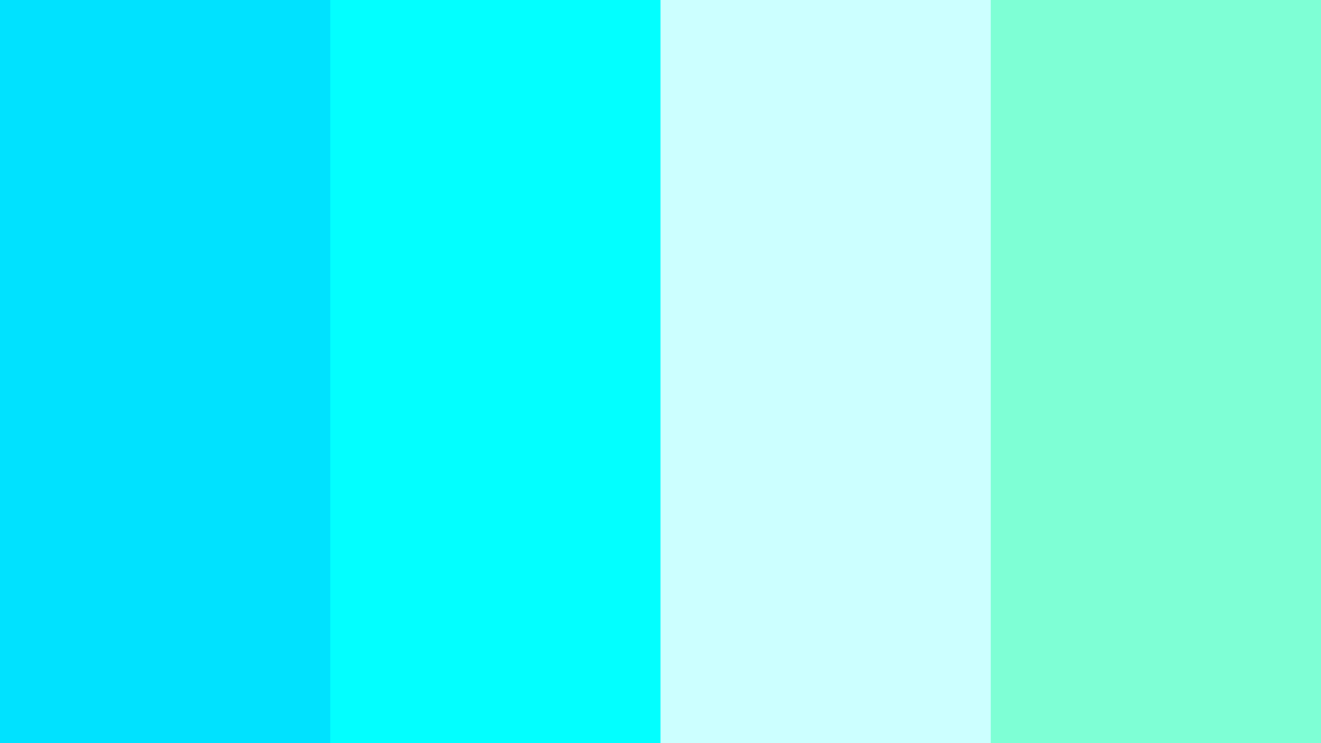Show Me A Picture Of The Color Aqua