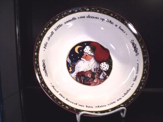 International China Susan Winget A Christmas Story Round Vegetable ...
