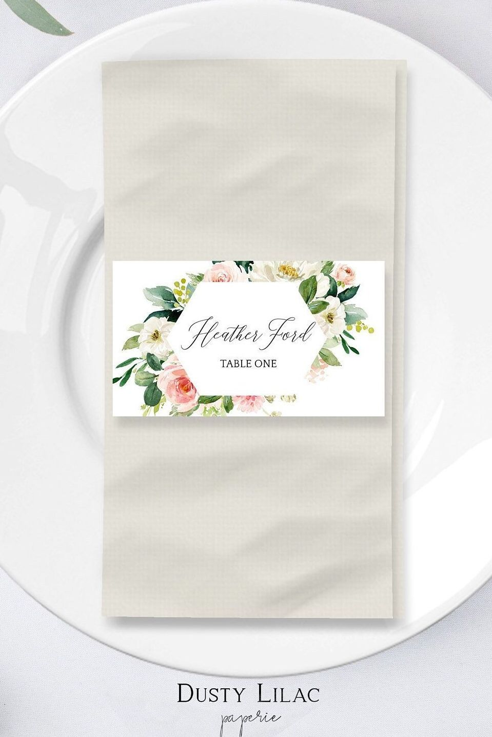 Pin On Dusty Lilac Paperie Printable Wedding Invitation Templates