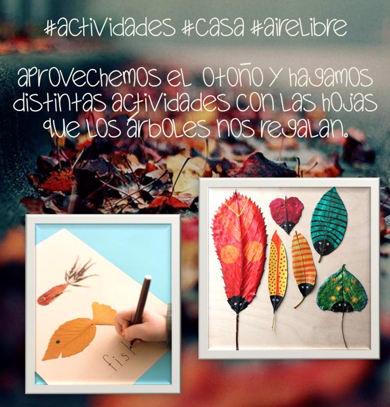 Actividades Con Hojas   Nature Crafts   Pinterest   Hoja ...