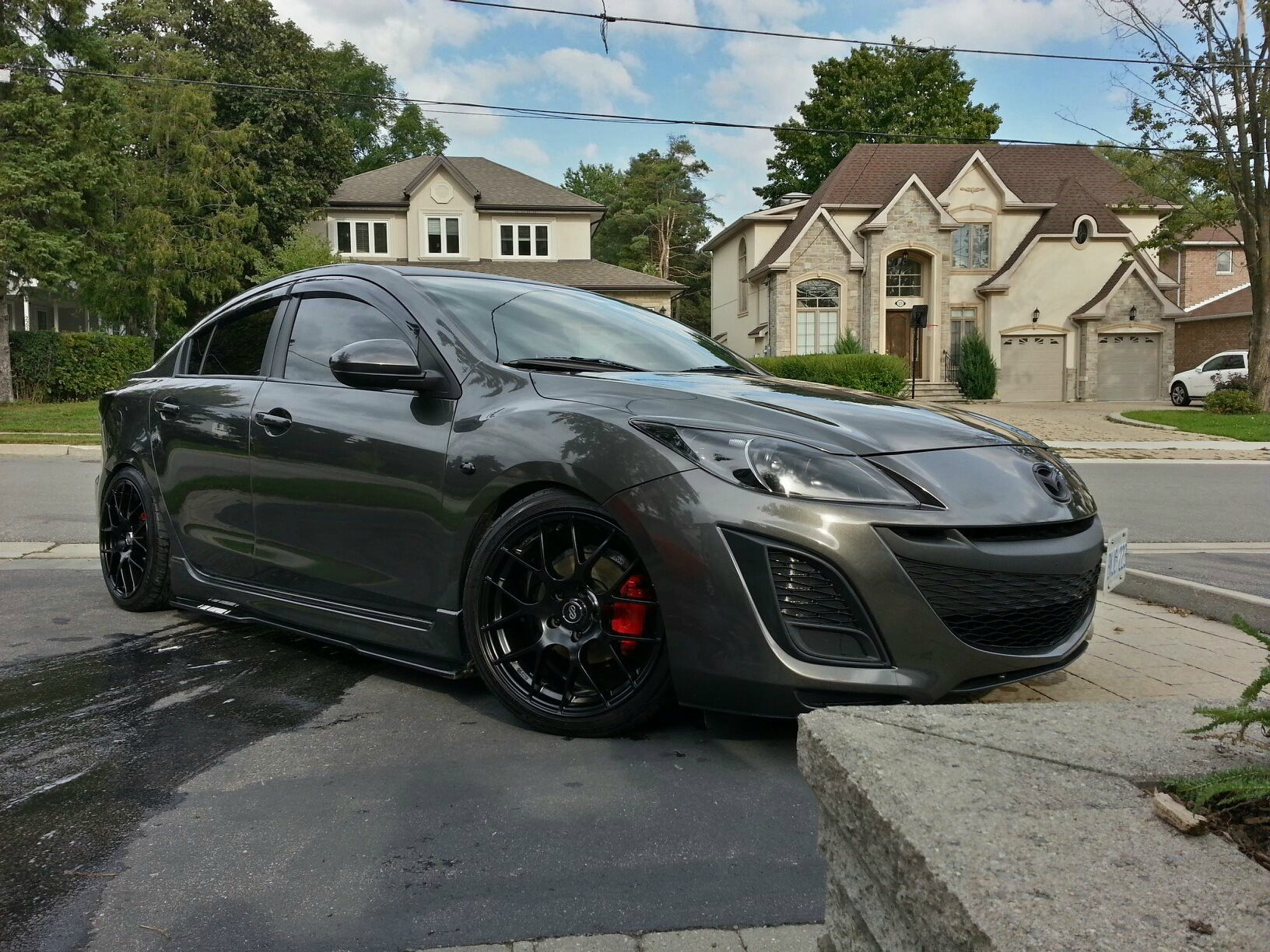 mazda top special rims sport speed black edition cars s