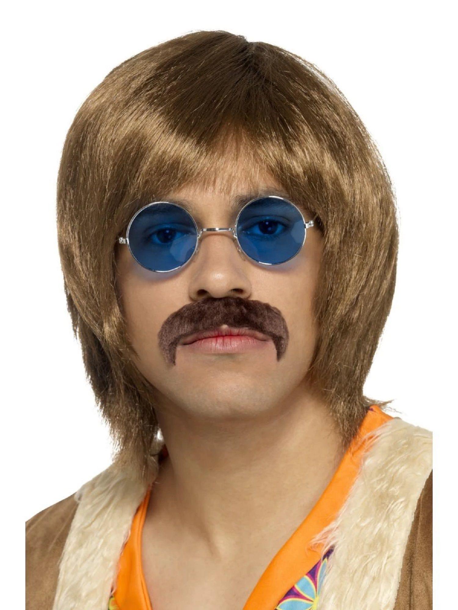 Hippie Moustache Costume Accessory Adult Halloween