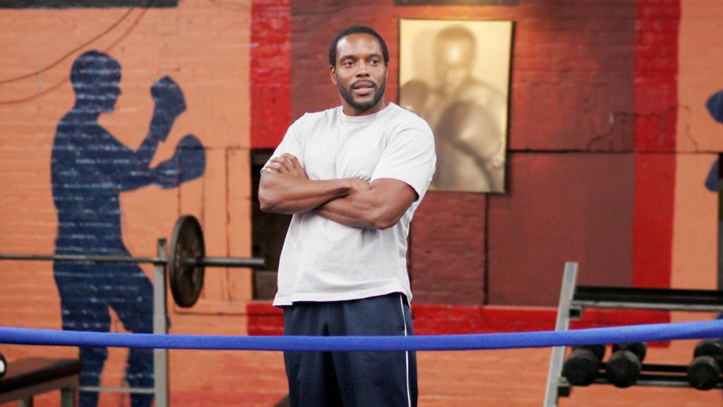 Cutty at the boxing gym   The wire hbo, Hbo, Best shows ever