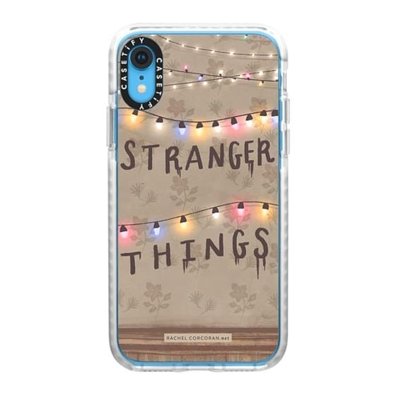 Impact iPhone XR Case Stranger Things Illustration by