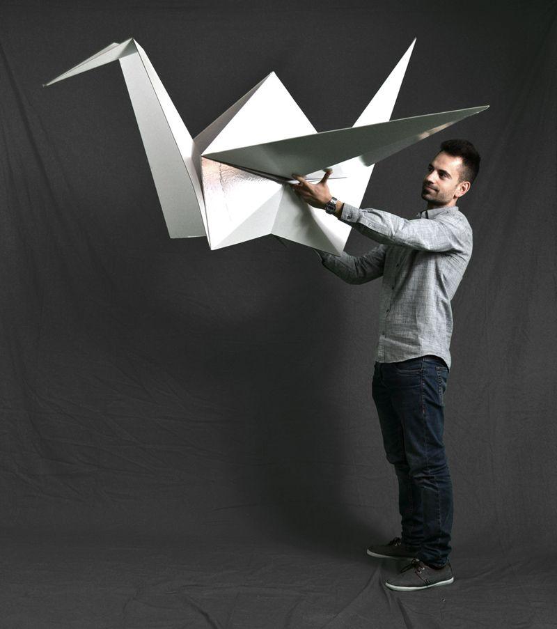 origami gigante