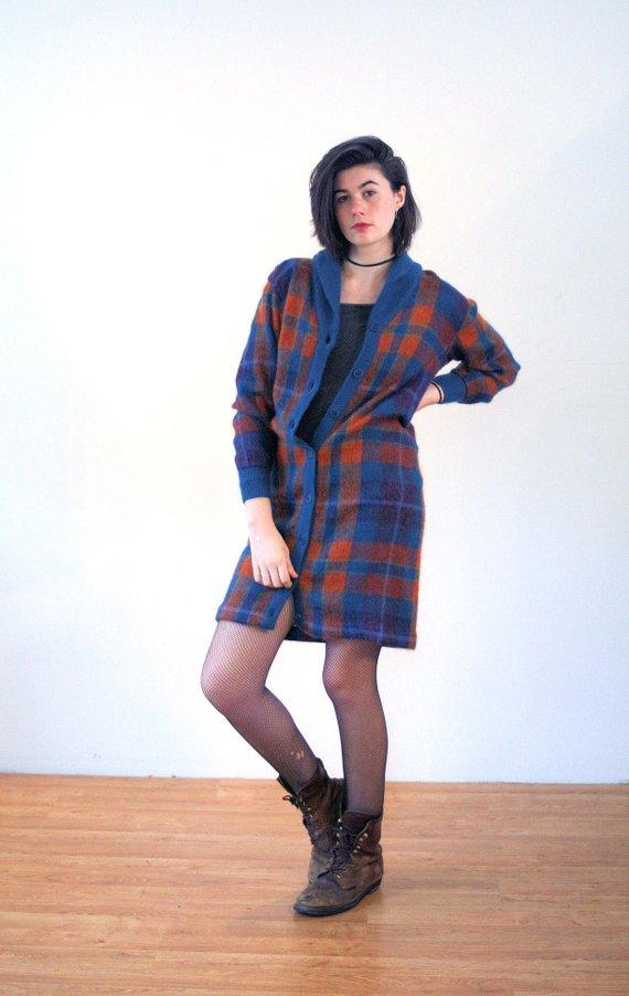 d3279bcade 70s Missoni Mohair Sweater Dress M