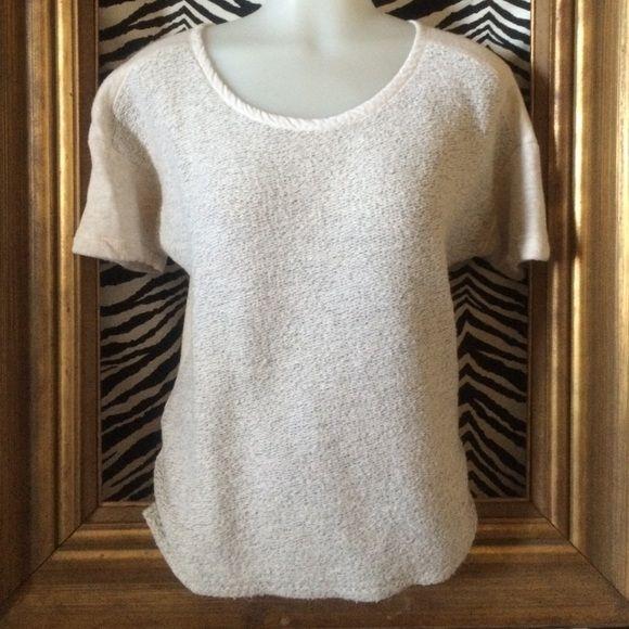 LOFT top; S Grey sweatshirt-type material LOFT Tops