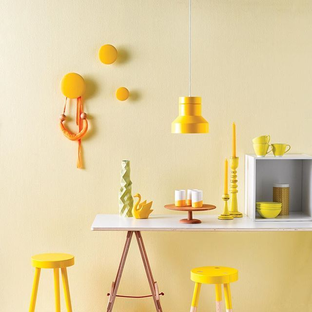 Let The Sun Shine In With Lemon Walls And Bright Yellow Accessories Your Days Will Never Look So Resene First Light On