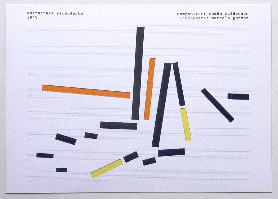 Estructura ascendente 1949 Compositor: Tomás Maldonado Intérprete: Marcelo Gutman. 2008