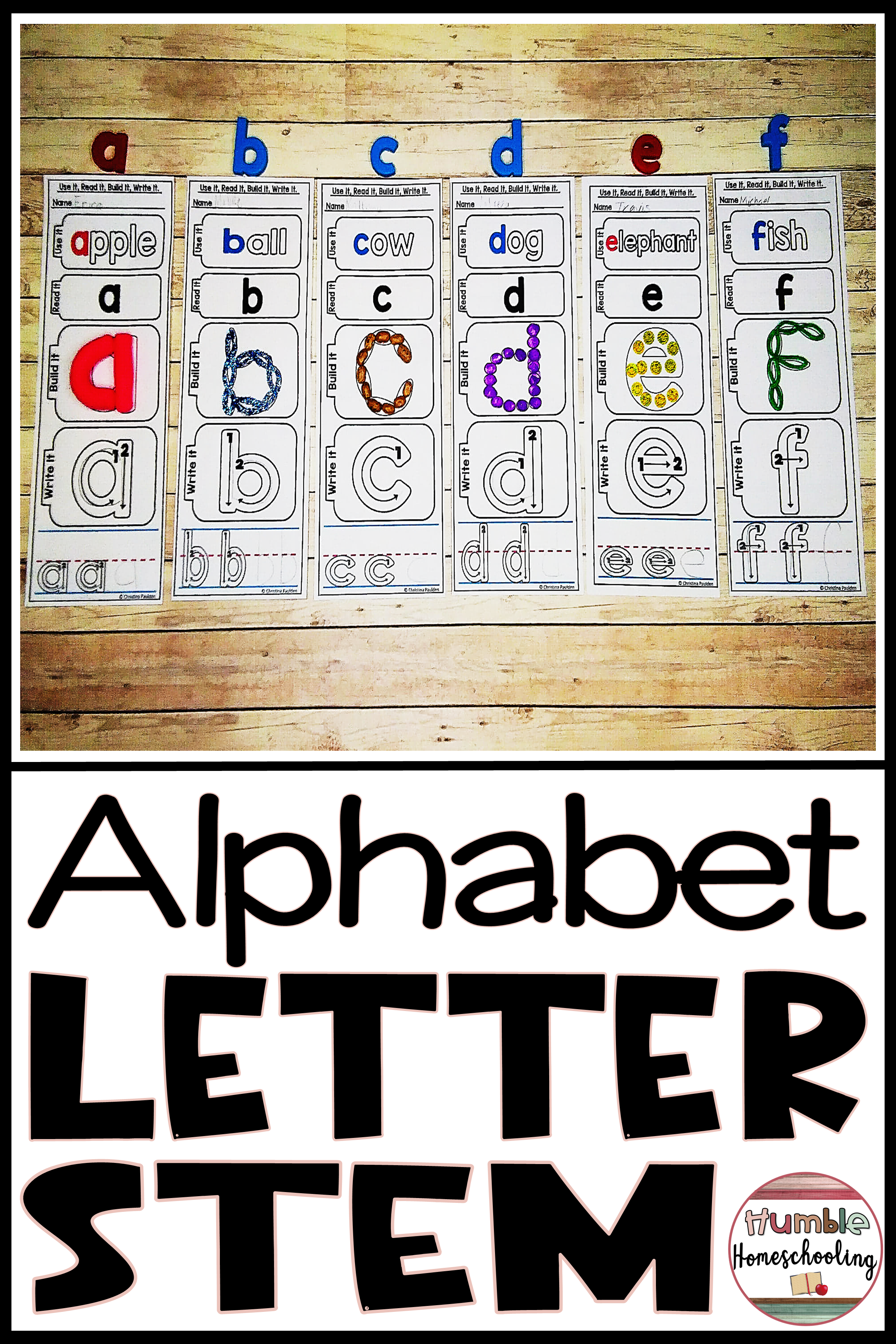 This Lowercase Alphabet Letter Formation Is Great Practice