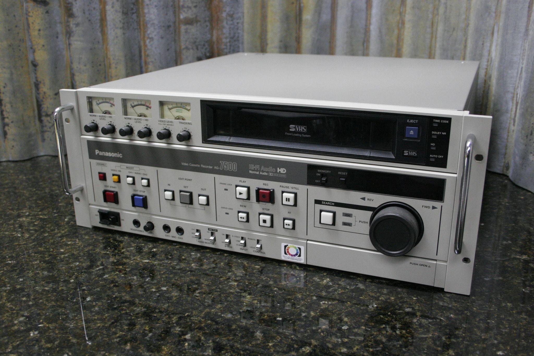Panasonic ag 7500 ремонт видеокамер сони в сургуте