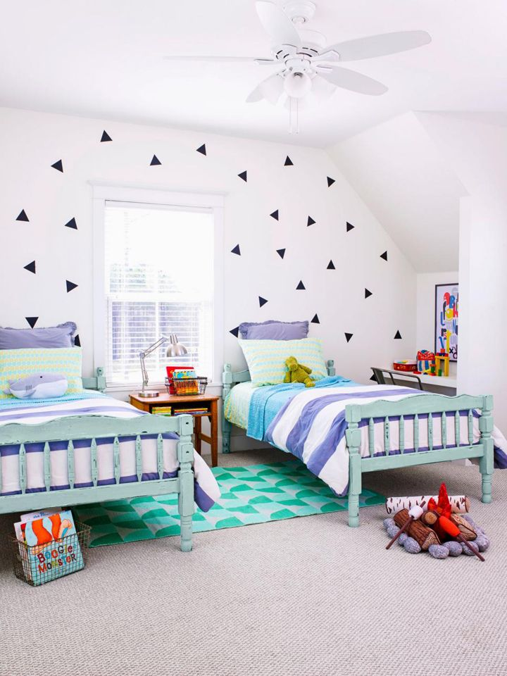 Twin Boys Bedroom Ideas: Fixer Upper-Inspired Farmhouse
