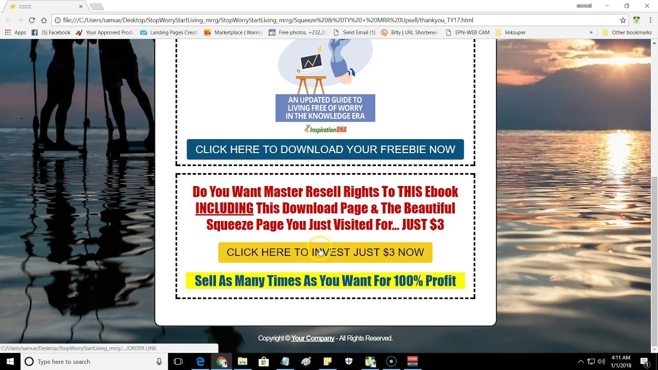 PLR REVIEWEnhance Your Health & Overall Well being MRR