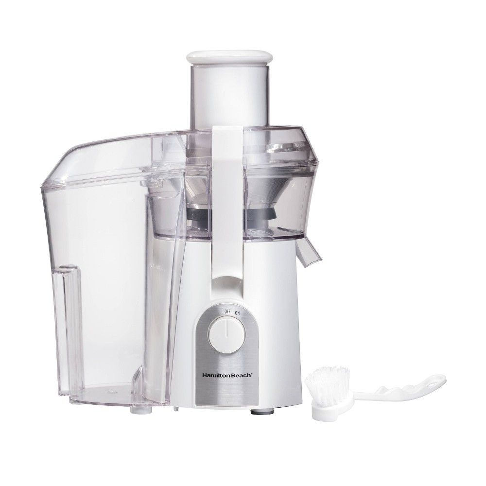 Hamilton beach big mouth juice extractor 67602 white