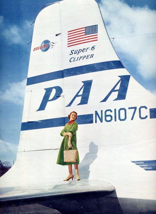 1950's vintage Pan Am
