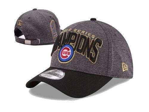 90f1efef856 Chicago Cubs New Era 2016 World Series Champions 39THIRTY Flex Cap ...