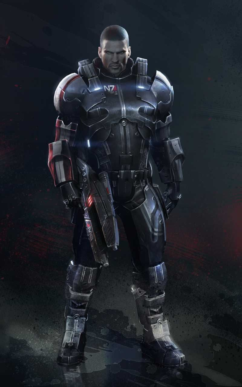 Commander Shepard In N7 Defender Armor By Countryboy1860