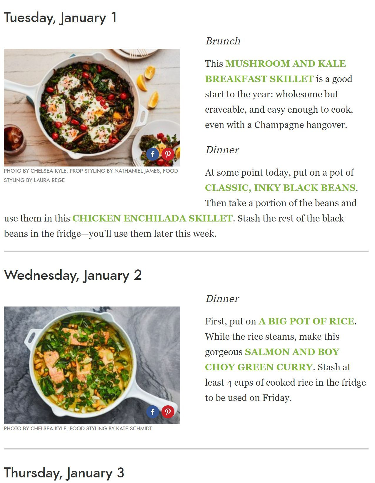 The Official Meal Plan Of Cook90 2019 Meal Planning Meals Food Menu