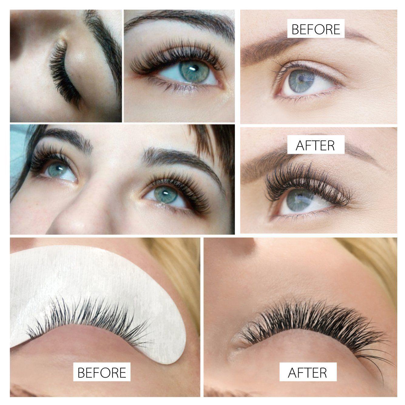 f9627086061 Amazon.com: Beyelian Beauty Mink Eyelash Extensions Charming D Curl 0.20mm  Mixed Tray