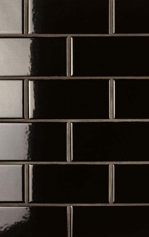 schwarz wei frs bad new york style fliesen soho - Schwarzweimosaikfliese Backsplash