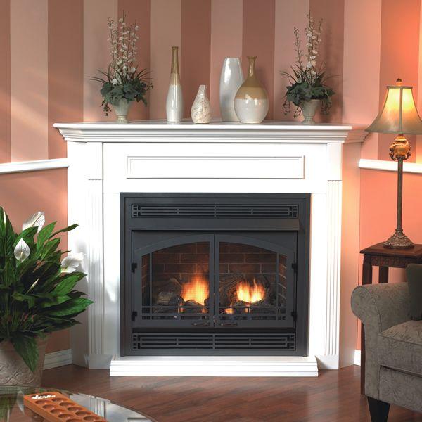 Empire Premium Vail Ventless Lp Fireplace Ipi Blower 36
