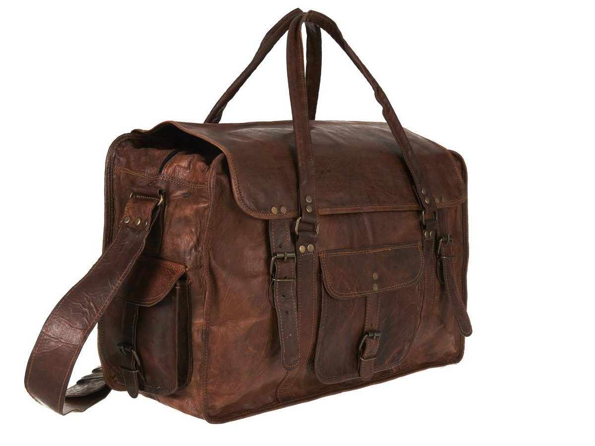 Leather Hand Luggage Bag | All Discount Luggage