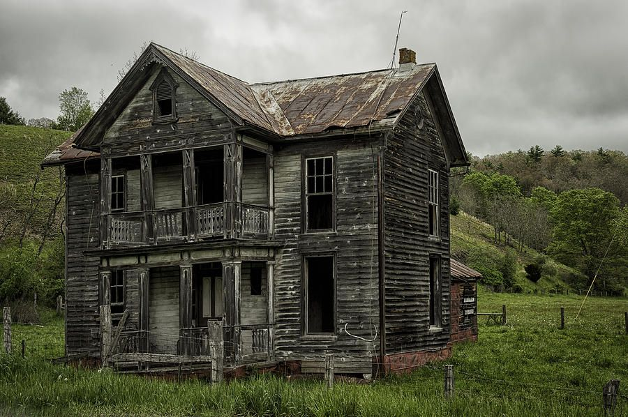 Abandoned Farm House In West Virginia by Mark Serfass in