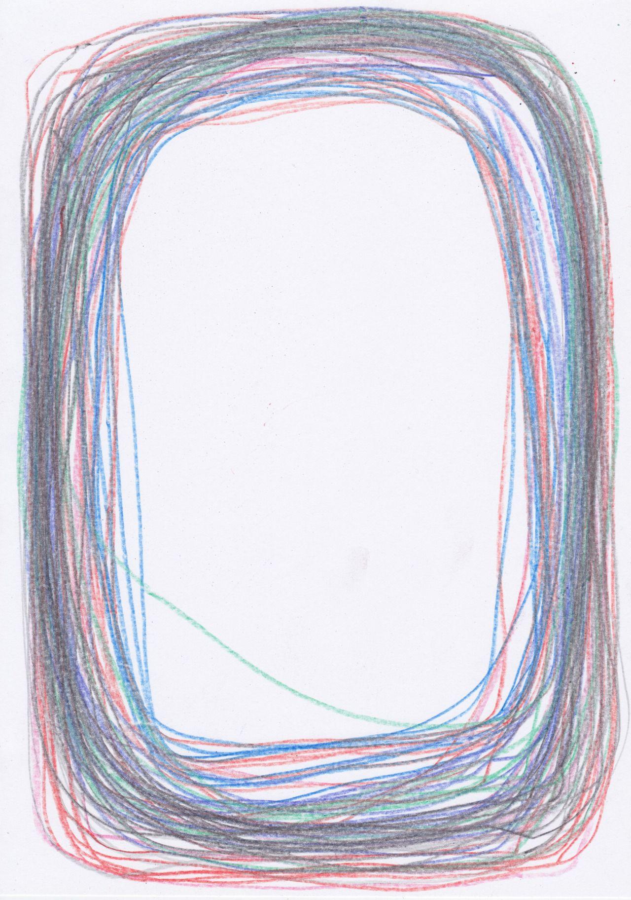 "Johannes Sowa - Antidote drawing  #5 - 2015 """