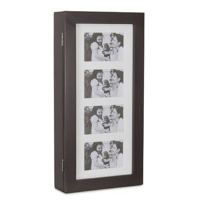 Wall Mounted Jewelry Armoire Finish: Brown - http://delanico.com/jewelry-armoires/wall-mounted-jewelry-armoire-finish-brown-653276970/