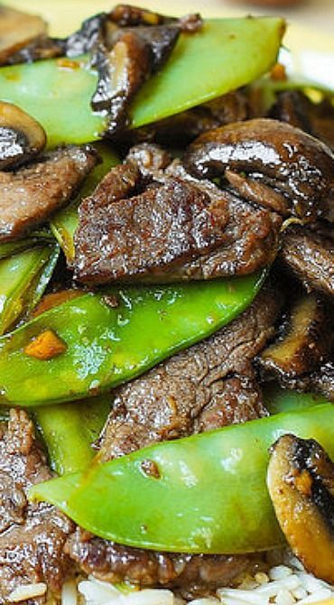 Asian beef with mushrooms snow peas homemade asian food gluten asian beef with mushrooms snow peas homemade asian food gluten free recipe forumfinder Gallery