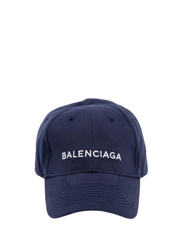 79facd8e435 BALENCIAGA LOGO EMBROIDERED GABARDINE HAT.  balenciaga ...