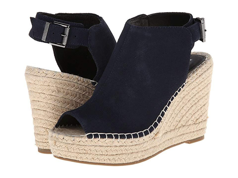 f8961336a5b Kenneth Cole New York Olivia Women's Wedge Shoes Navy in 2019 ...