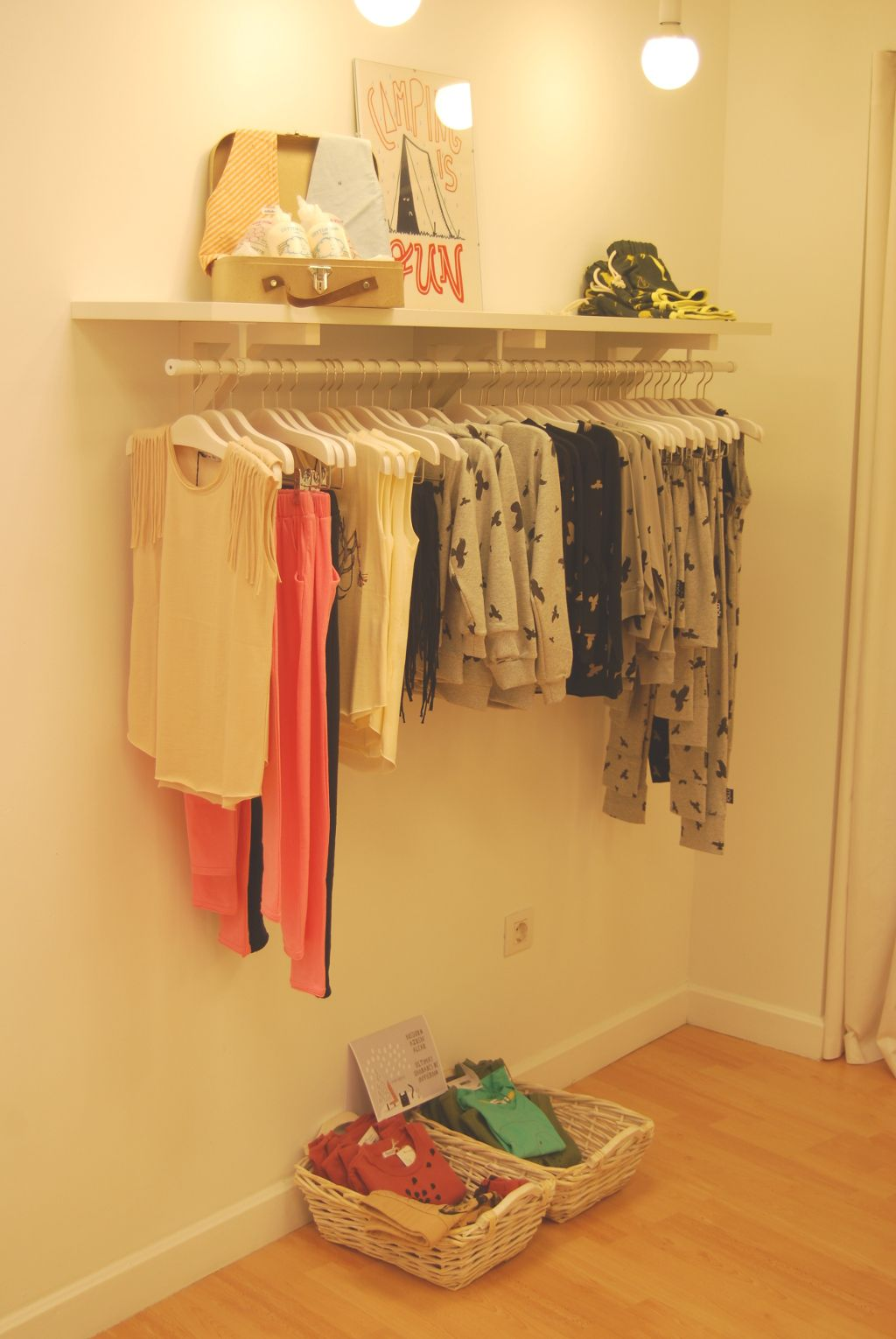 Kids clothes shop interior zirimola eco shop shoppy interior