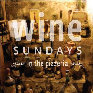 Byow No Corkage Fee Every Sunday Thin Crust Pizza Sunday Authentic Italian