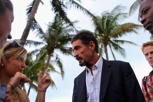 awesome Gadget wealthy individual John McAfee jumps into Libertarian Social gathering race for President