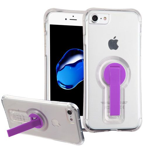 iPhone 8 TClear Candy Skin Cover (with Purple 360º