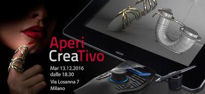 Notizie su Rhino, ed altro...: Aperi Creativo di Natale - 13 dicembre, Milano