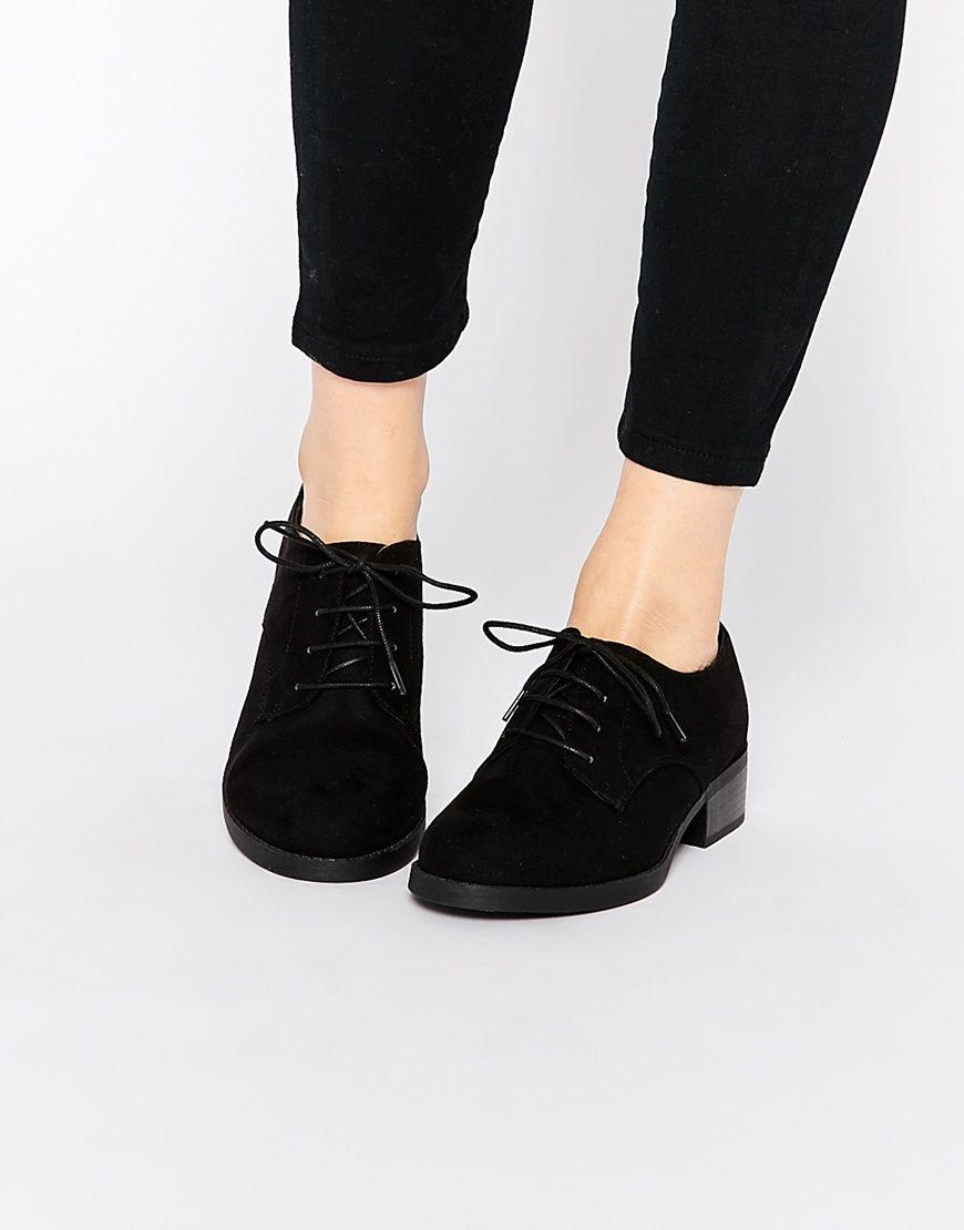 Chaussures Derby En Noir - Nouveau Look Noir FIUuc