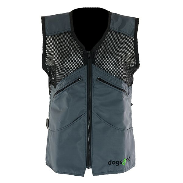 This Dog Handler Vest Is Designed For Hot Weather With Cooling