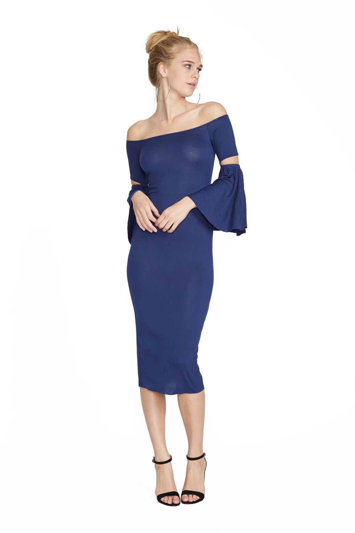 Destiny Dress in Navy Clayton