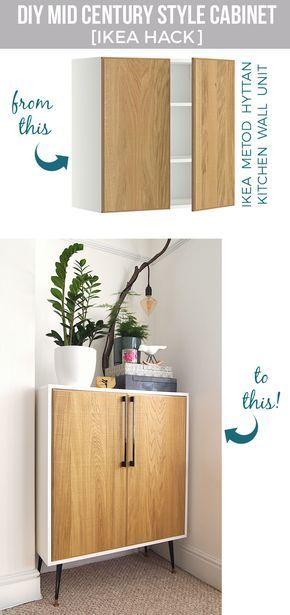 DIY cabinet IKEA hack Pinterest Diy cabinets, Ikea hack and - schrank für wohnzimmer
